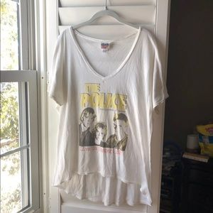 The Police Junk Food Concert Graphic Tee Shirt L